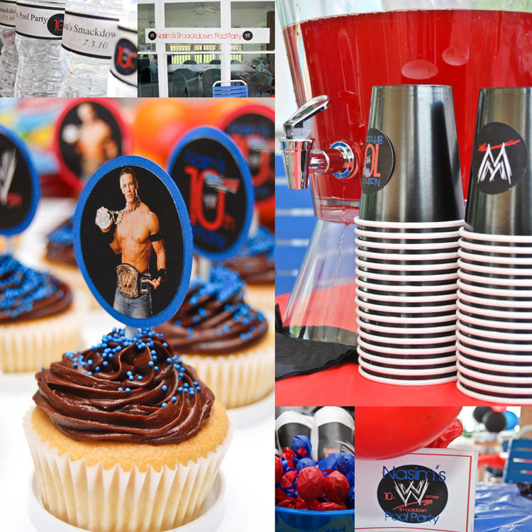 WWE Party Supplies 10th Birthday