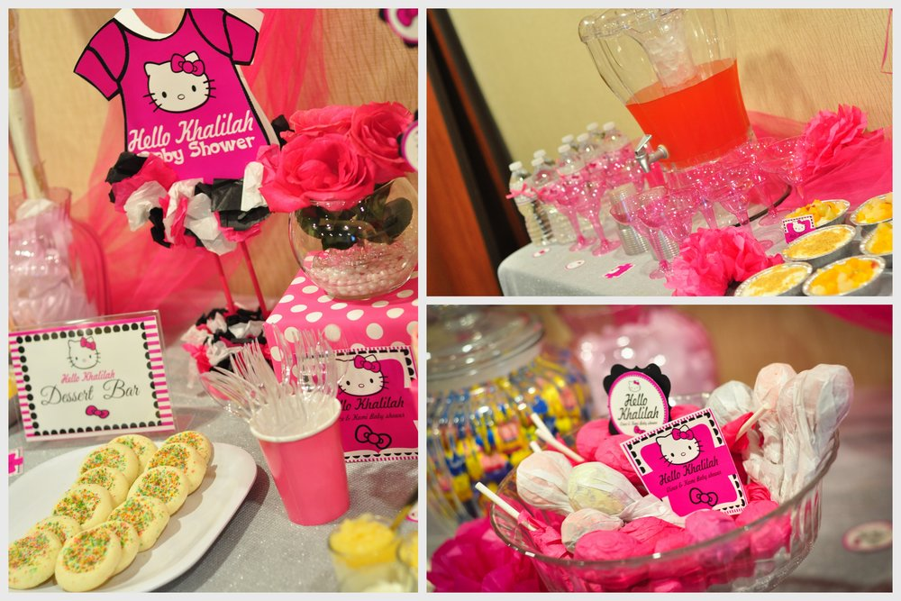 Hello Kitty Baby Shower Party Supplies