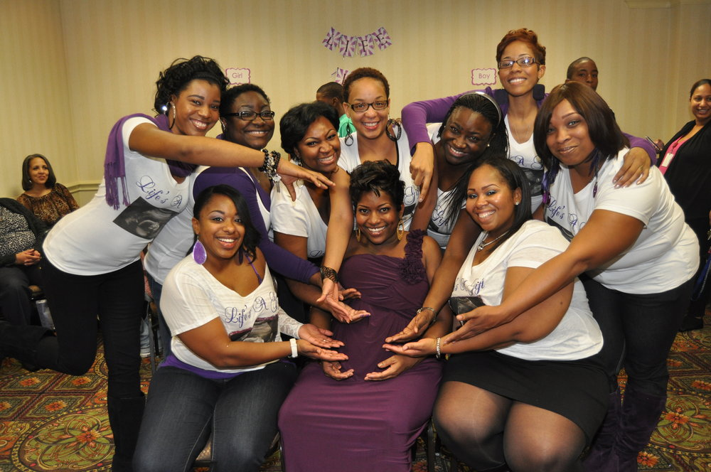 Purple Party Baby Shower- Where my Girls at