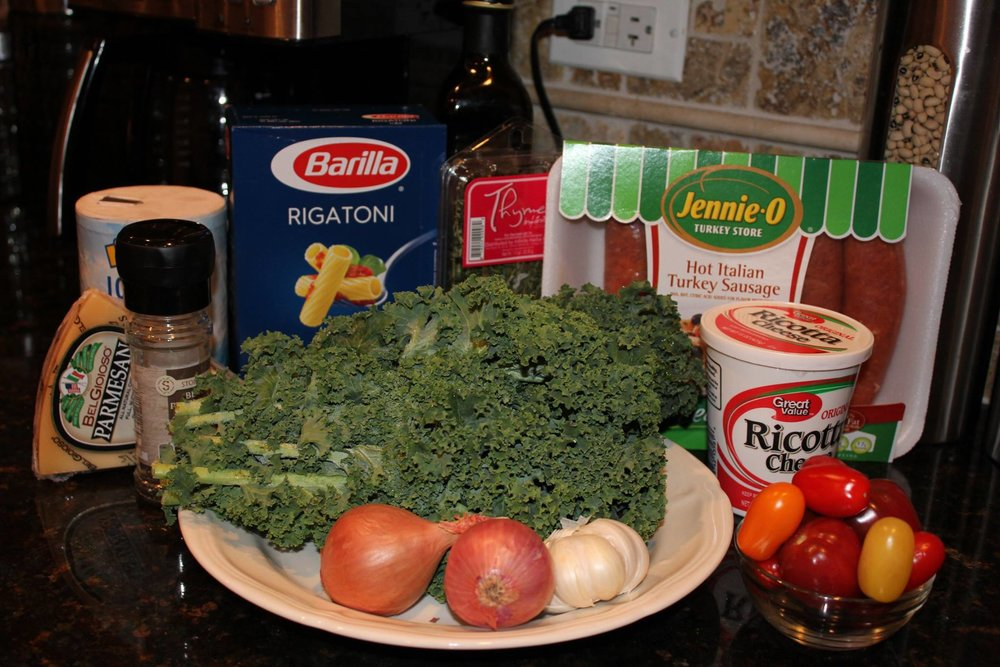 Kale and Sausage