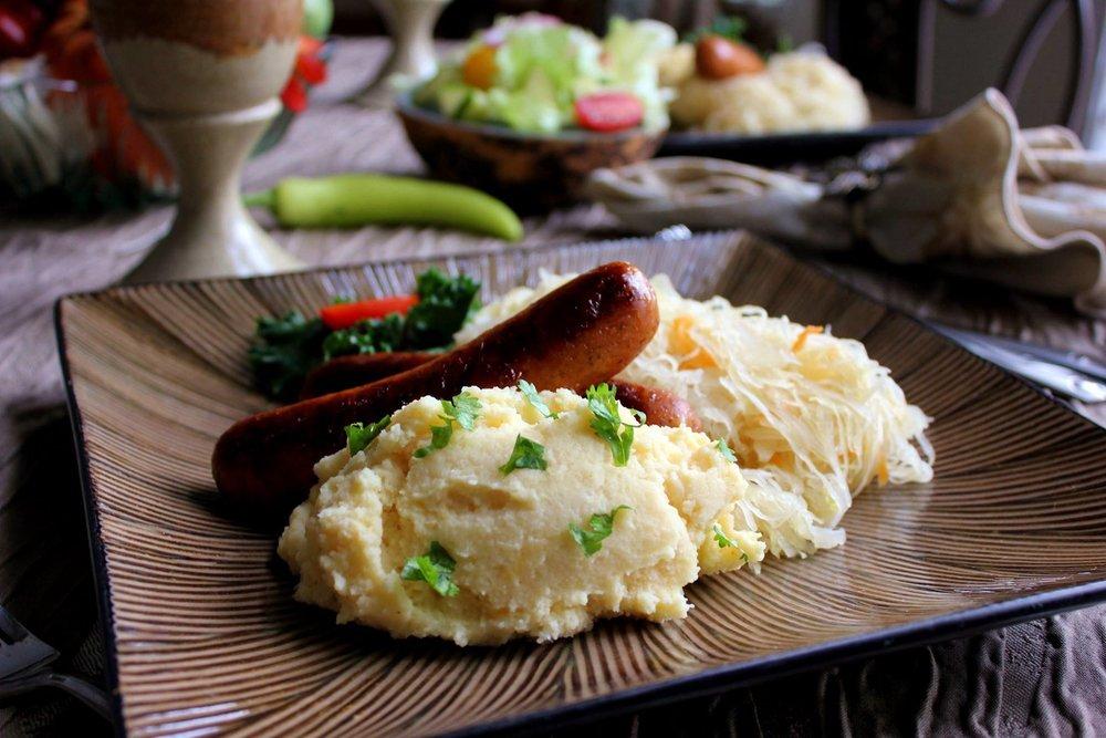 Sauerkraut & Turkey Sausage.jpg