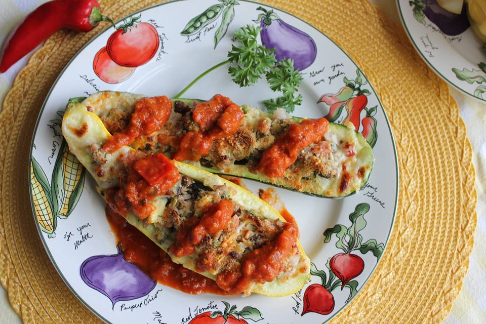 Smarty Marty Zucchini Boats
