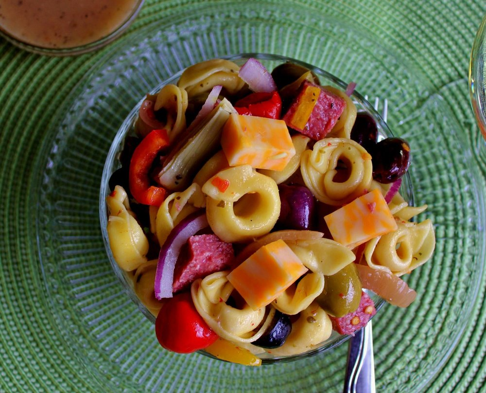 Tortellini Salad- Smarty Marty