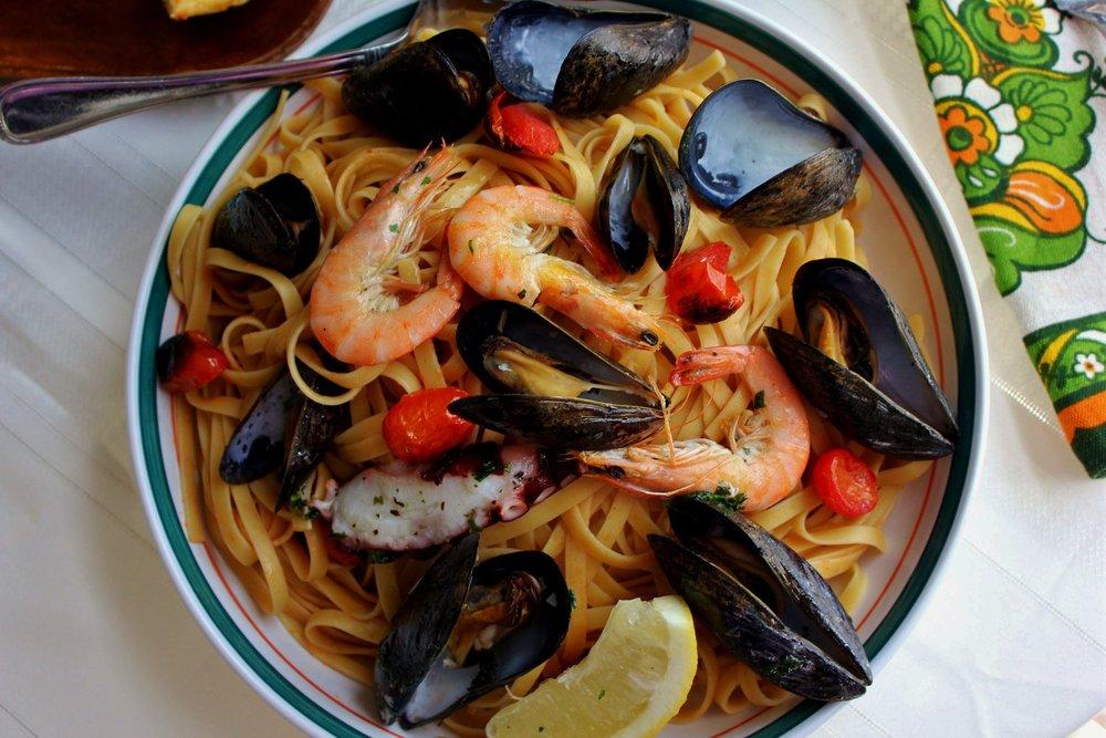 Fettuccine & Mussels