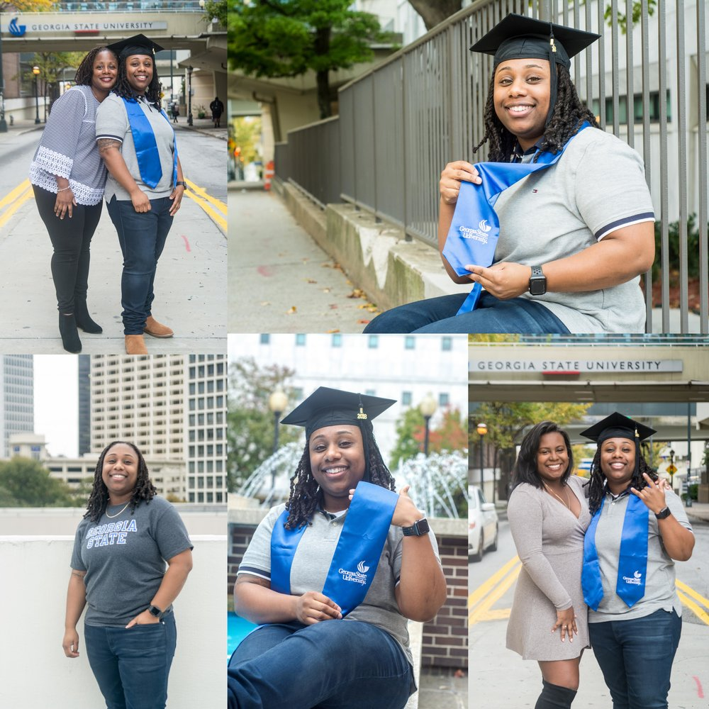 Monica Epps Graduation Photos! Class of 2018  Georgia State Graduate! December 2018