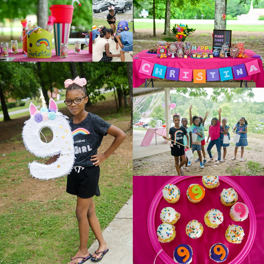 Christina's 9th Birthday Celebration - May 2018