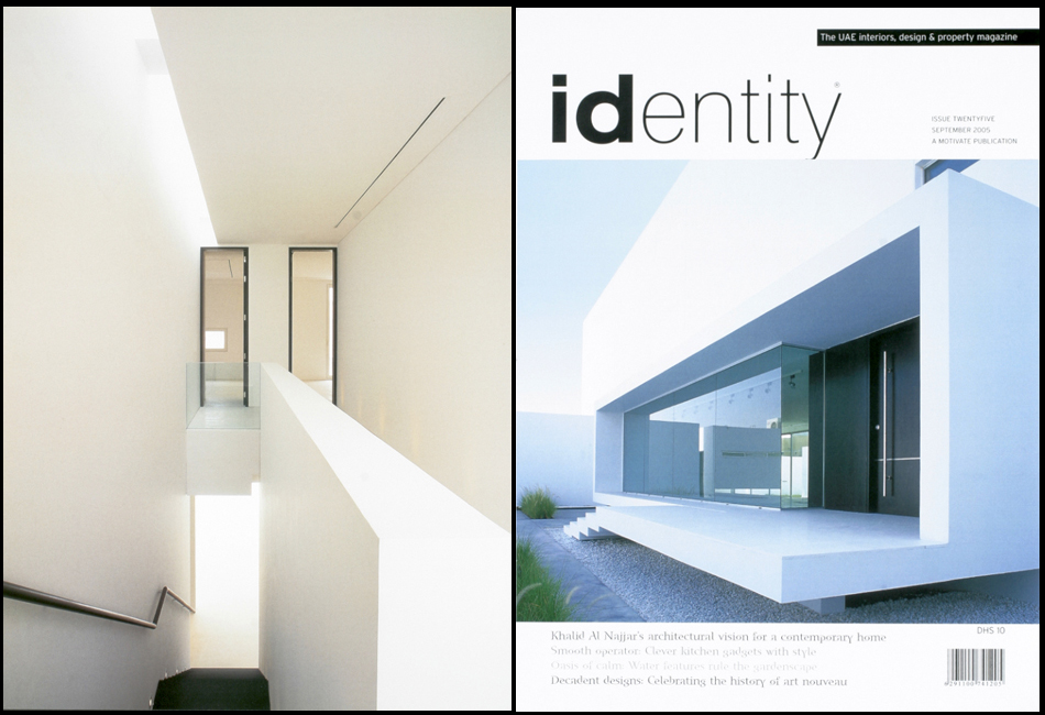 Identity magazine with Catherine Belbin