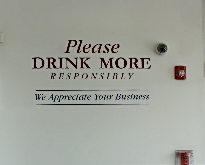 Please drink more responsibly