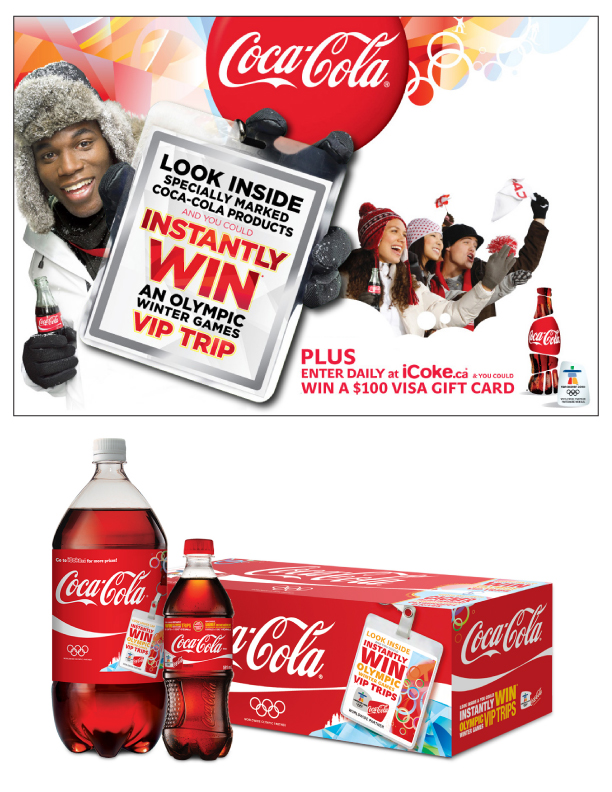 Coca-Cola Olympic Trips Promotion