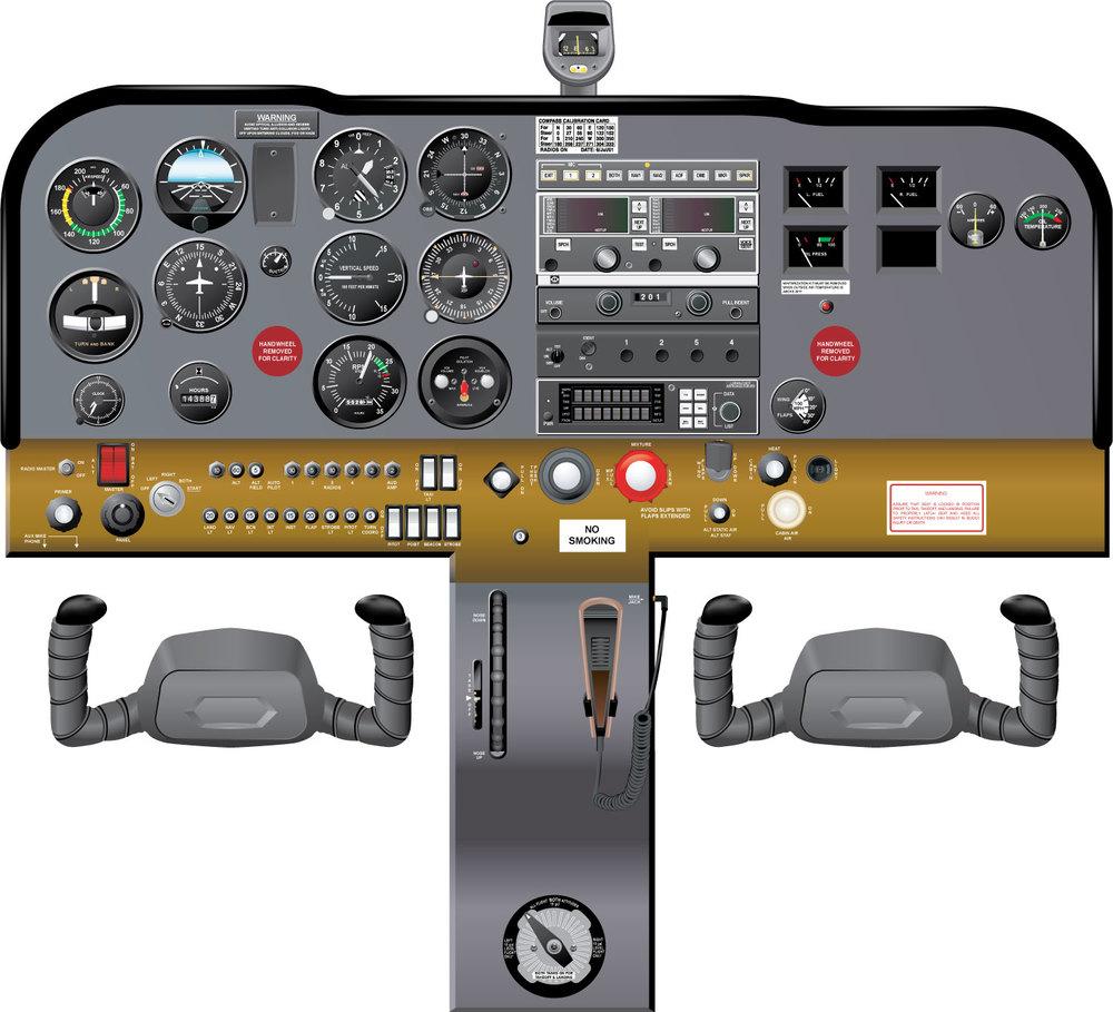 172 M Full Cockpit