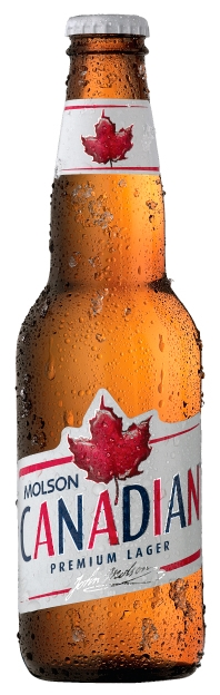 Molson Canadian Product Shot