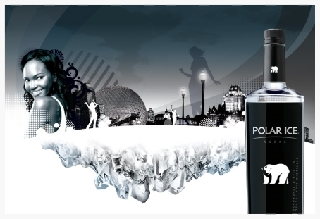 Polar Ice Vodka Visual Identity System