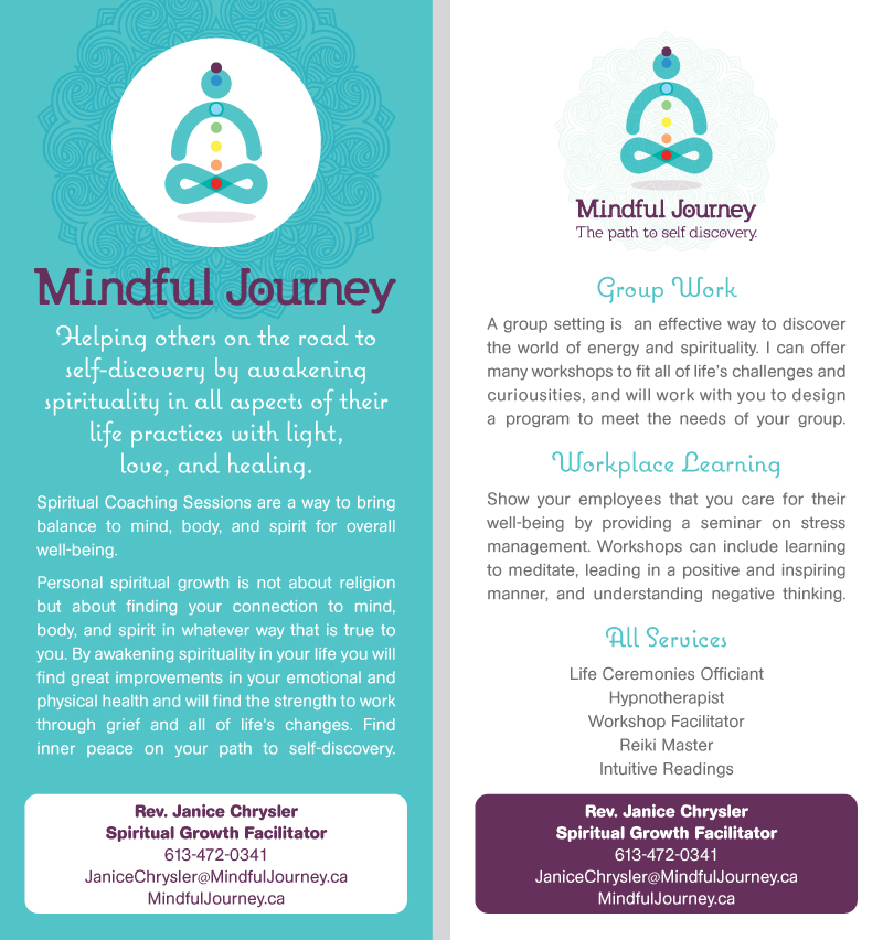 Mindful Journey Rack Card