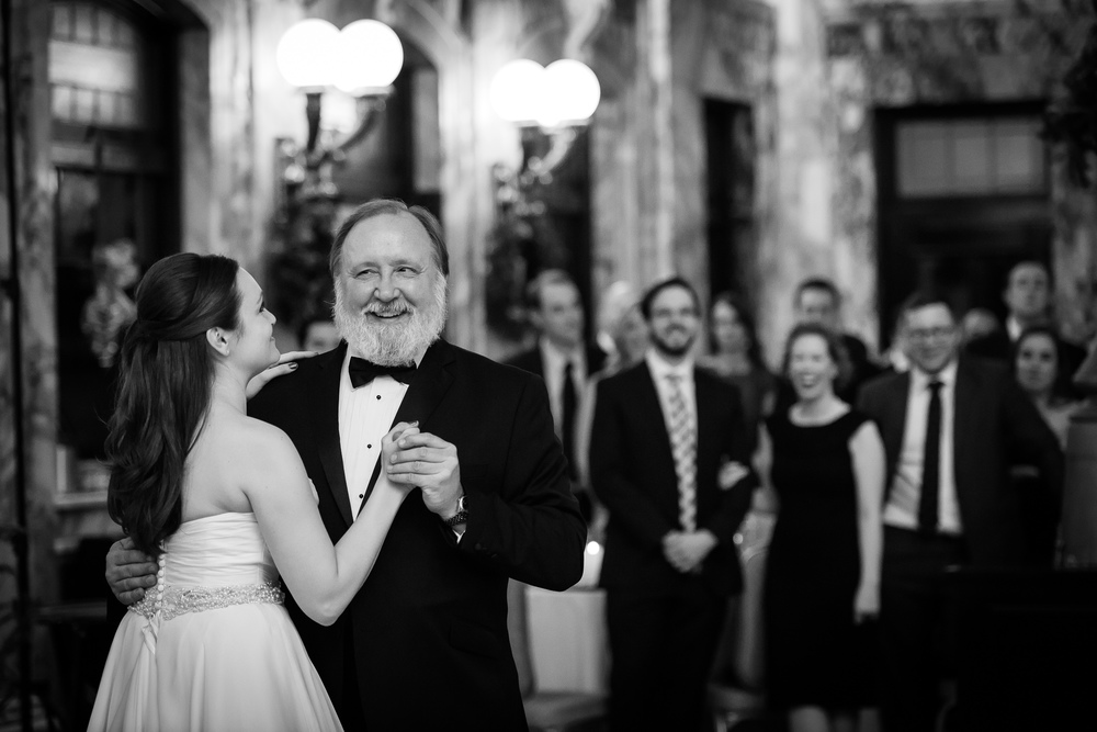 Radisson Wedding Bride & Father Dance Scranton Pennsylvania