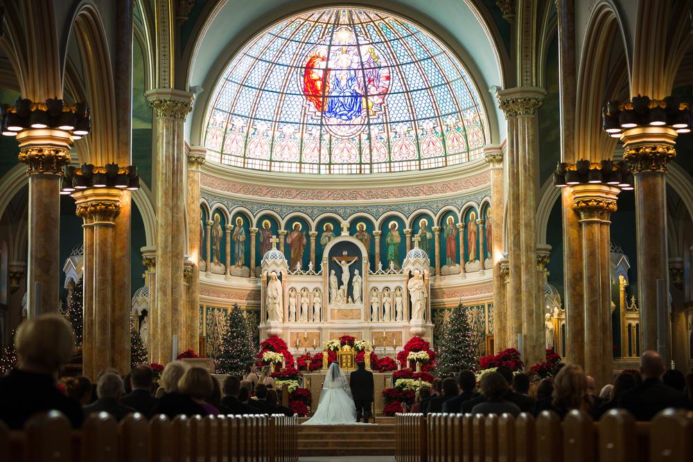 Dickson City wedding church photographer