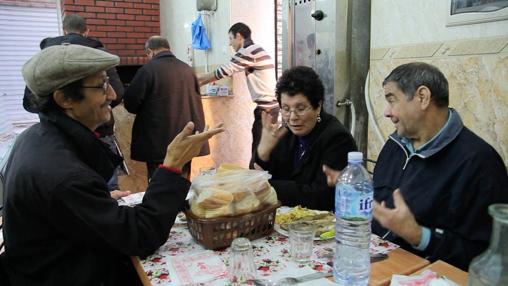 Sardines grillées rue de Tanger