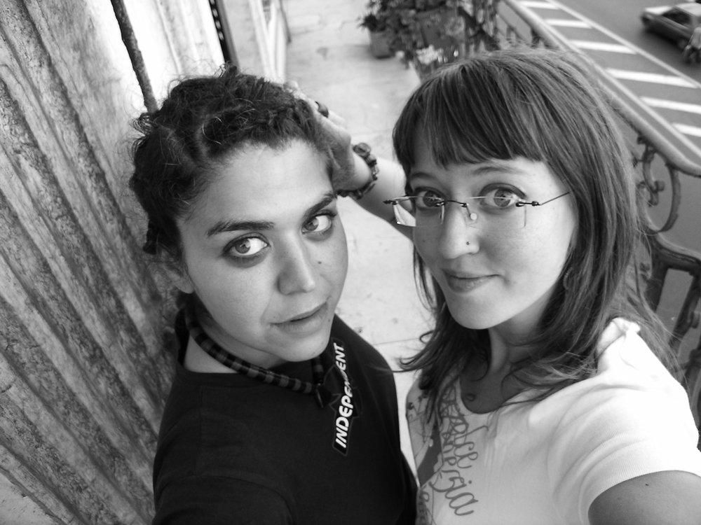 Sihem Merad & Elodie Wattiaux, réalisatrices du film Premier plan Algérie