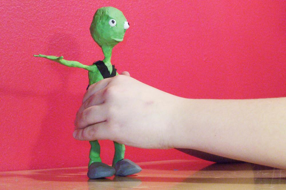 Posing a 3D model