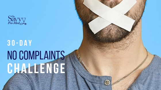 Take the 30-Day No Complaints Challenge