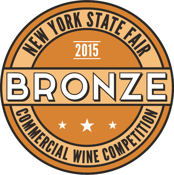 New York State Fair Commercial Wine Competition-Cabernet Sauvignon 2015 New York - Dry Red Wine- Bronze medal