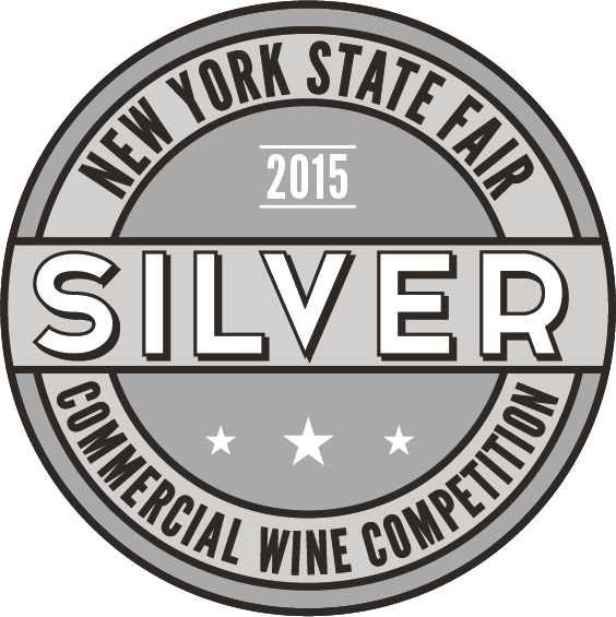 New York State Fair Commercial Wine Competition-Cabernet Sauvignon 2014 New York -Silver medal
