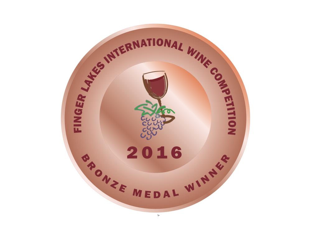 Finger Lakes International Wine Competition - 2016 Lodi Old Vine Zinfandel- BRONZEmedal