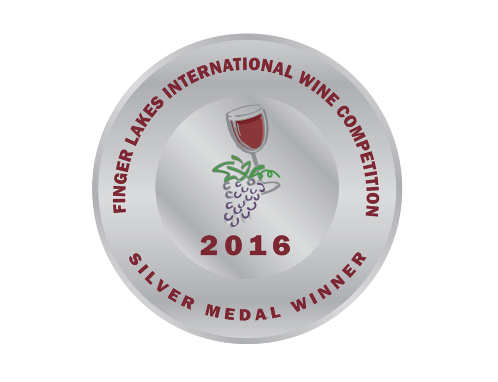 Finger Lakes International Wine Competition -  2016 Cabernet Sauvignon - SILVER medal