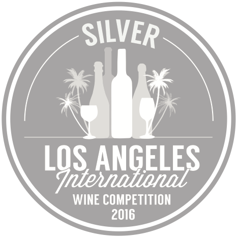 Los Angeles International Wine competition - 2016 SILVER medal