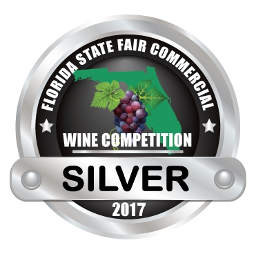 Florida State Fair Commercial Wine Competition - 2017 - SILVER medal