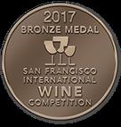 San Fransisco International Wine Competition - 2017 - DOUBLE GOLD medal -2016 Cabernet Sauvignon,2016 Zinfandel, &2016 Syrah