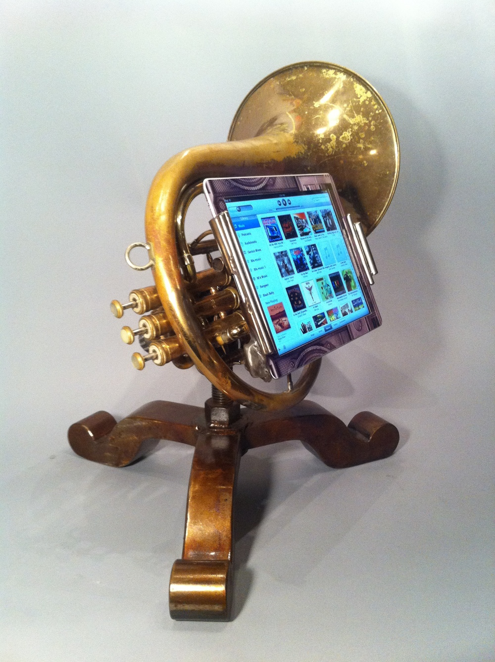 iPhone Trumpet Amplifier