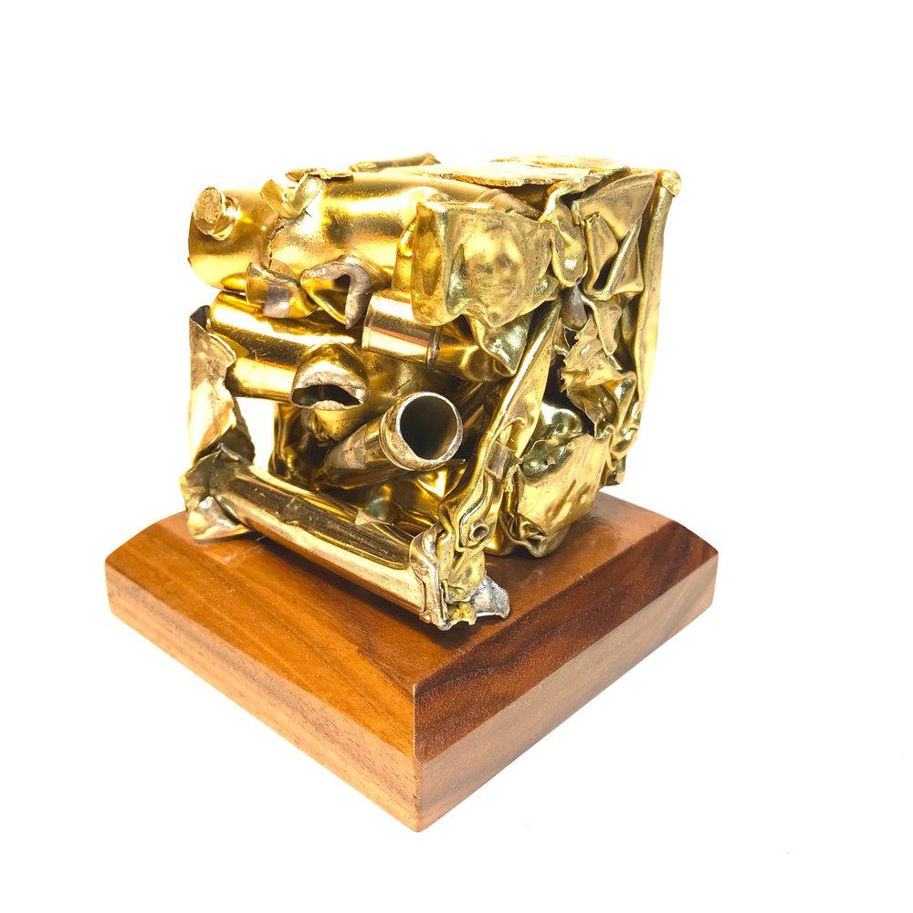 Brass Cubes