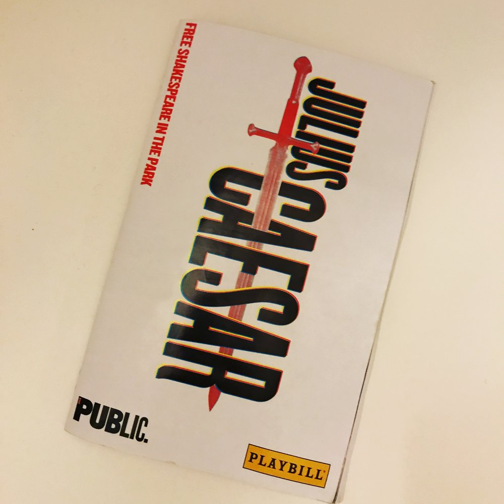 Theatre! - Julius Caesar, from The Public Theatre's Free Shakespeare in the Park program