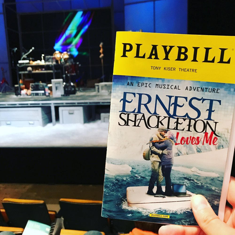 More Theatre! - The strange and whimsical Ernest Shackleton Loves Me