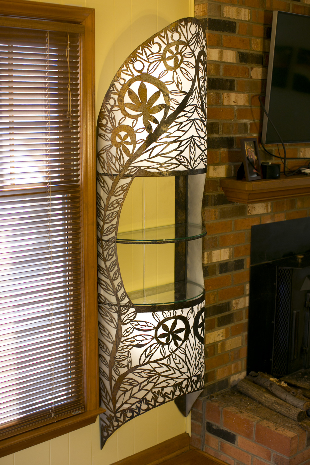 Shelf Sconces
