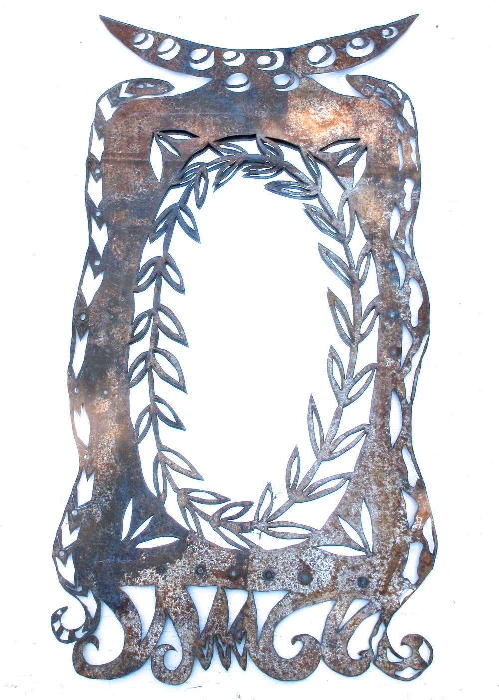 Half moon snake mirror