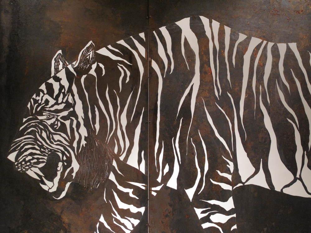 Tiger (detail)