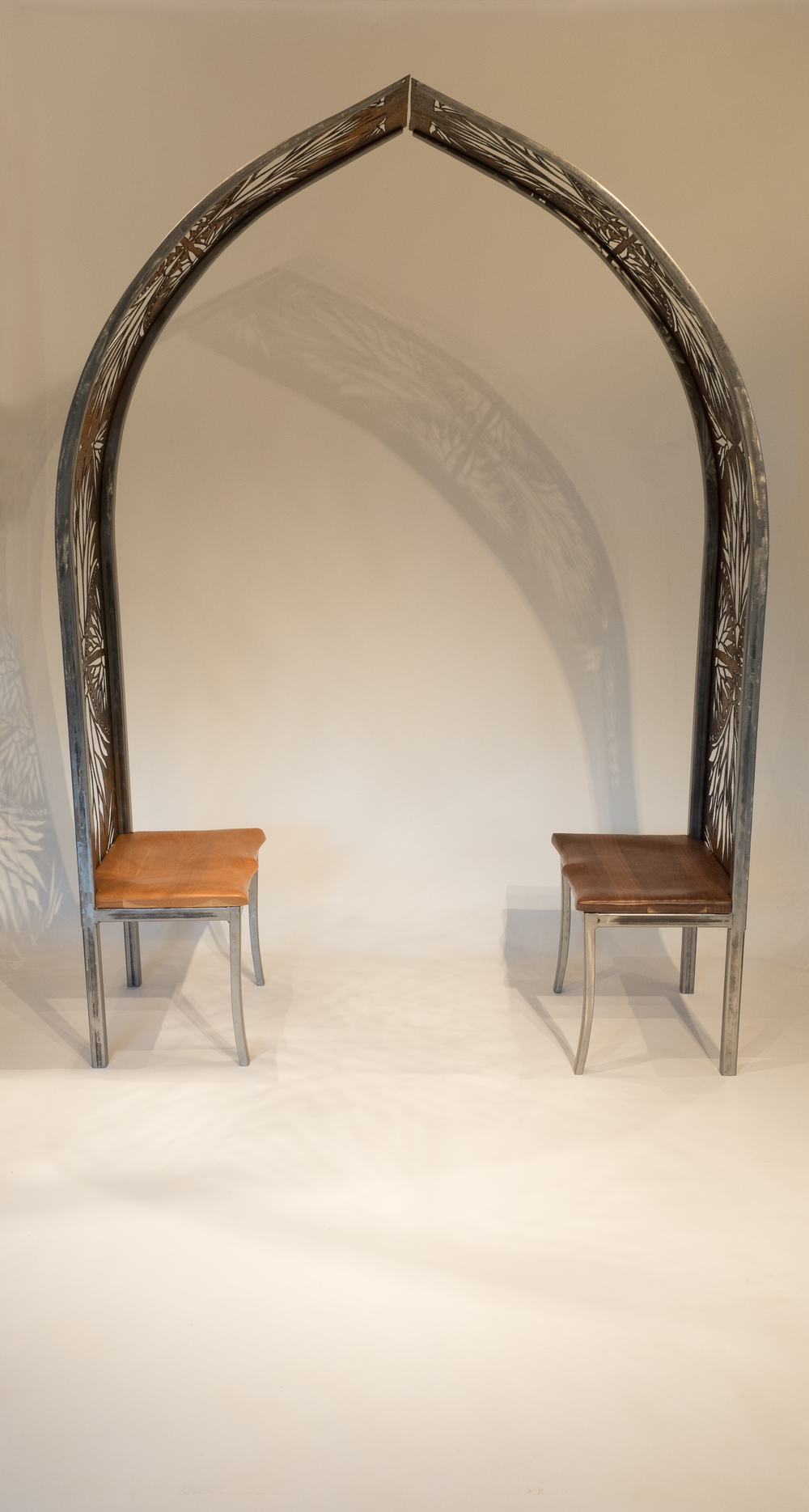 half arch chairs