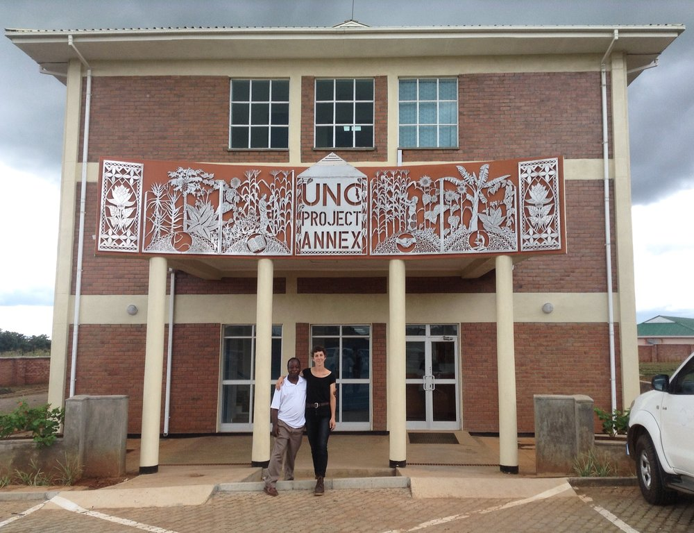 UNC Project Annex sign (Lilongwe, Malawi)