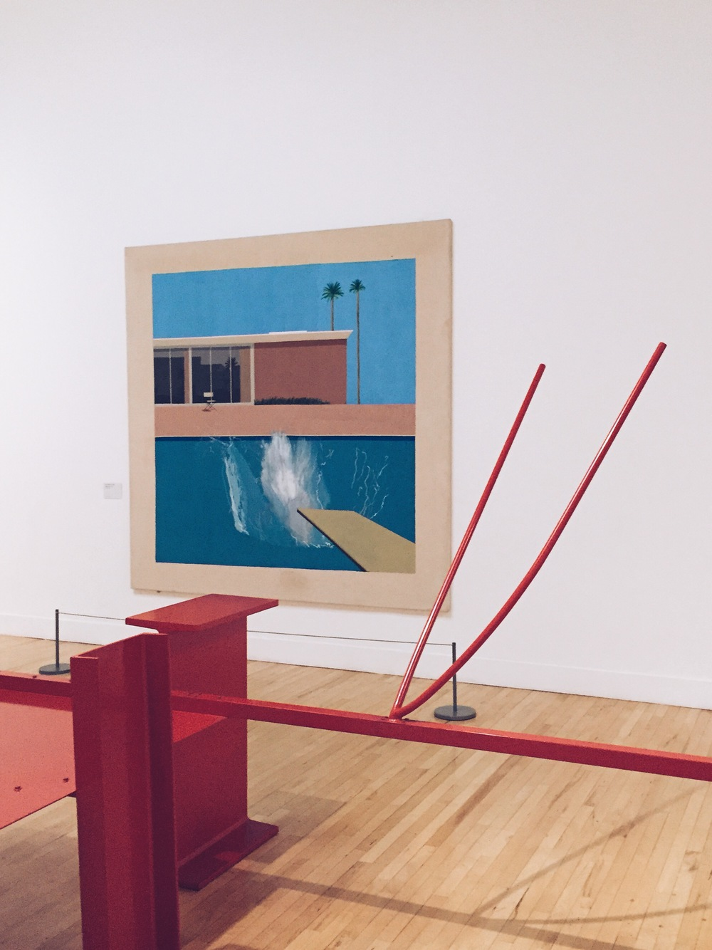 Hockney at Tate Britain