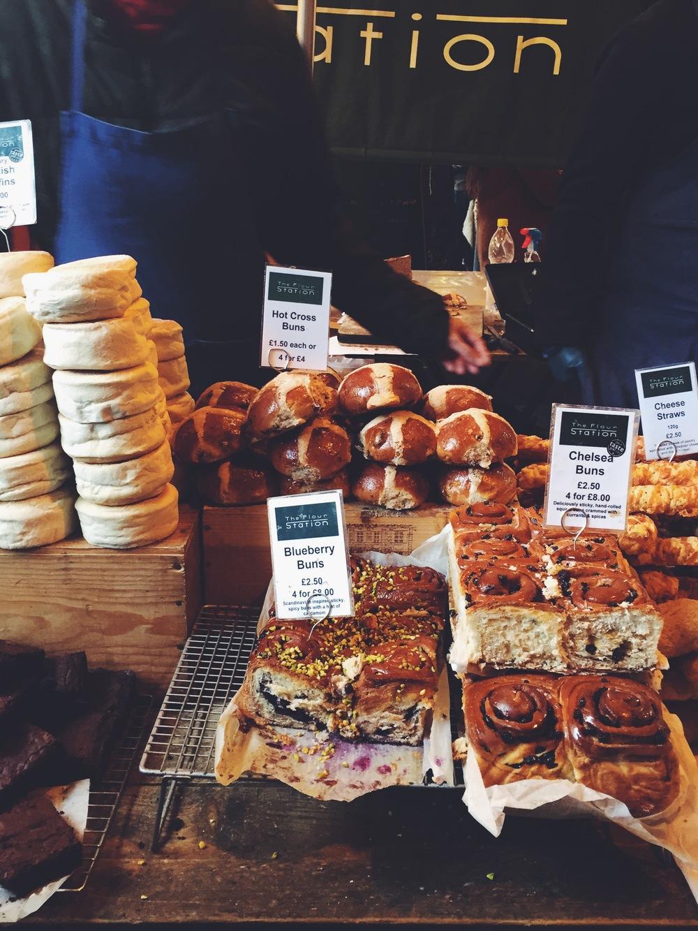"""Snacks"" at Borough Market"
