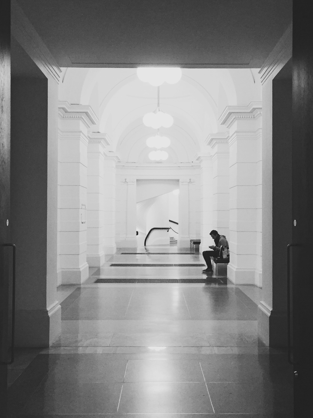 Corridors of Tate Britain