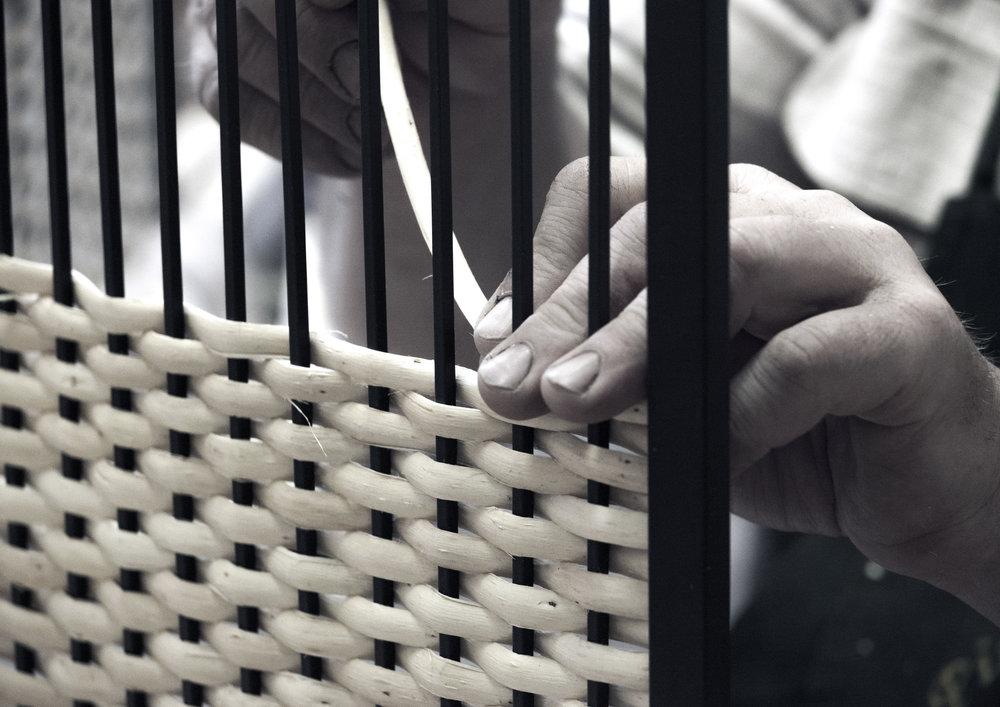 MAKERS - Latvian craftsmen who have mastered the skills of wicker growing and weaving.