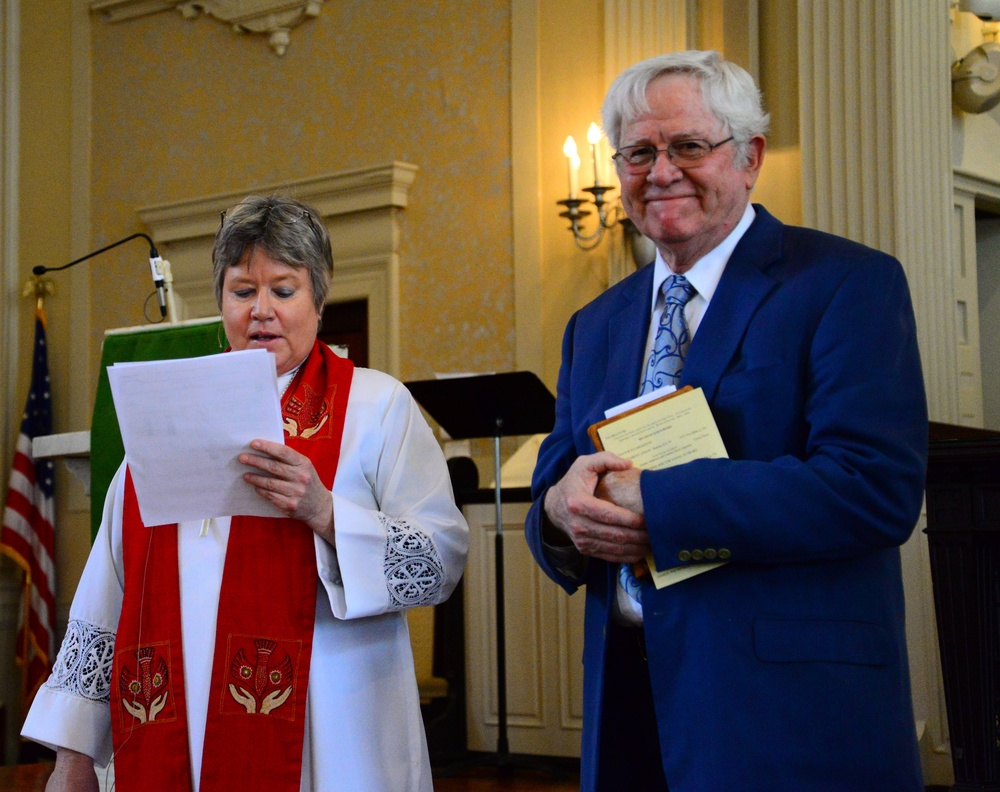The Rev. Dr. Krista Kiger shares about Tom's ministry