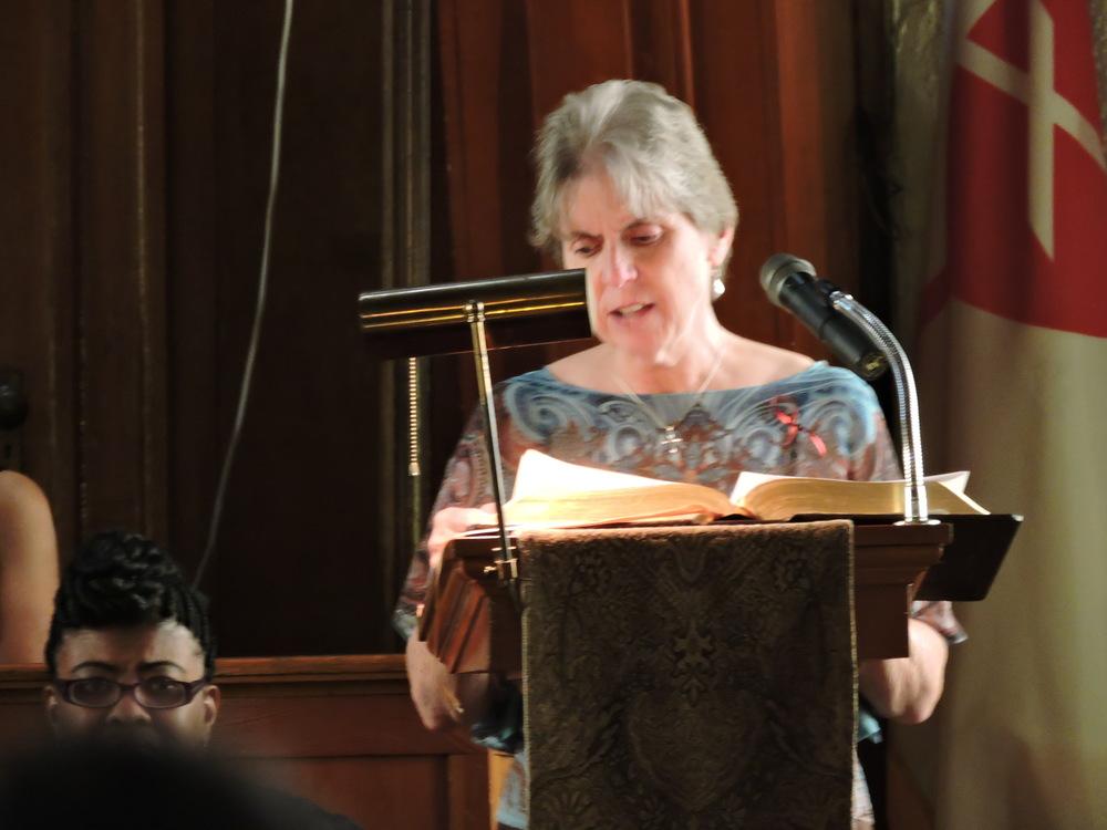Elder Janet Kingston of Memorial Boulevard Christian Church
