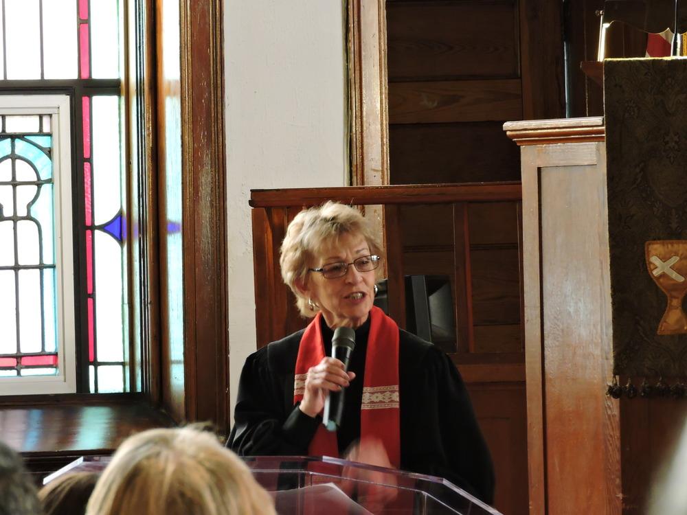 Rev. Katherine Kinnamon of Rhonda's Nurture Team