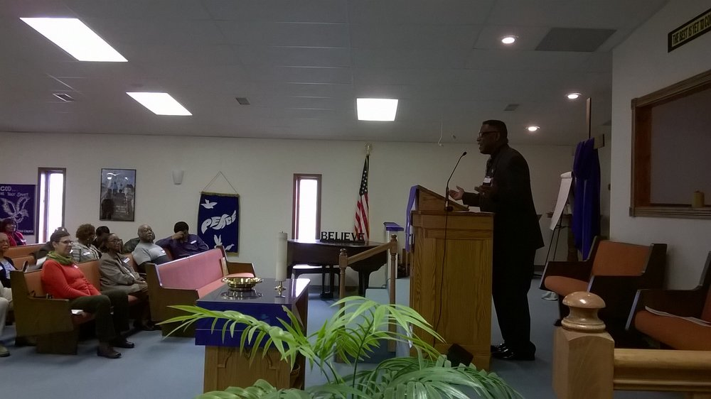 Rev. Dr. Jack Sullivan preaching
