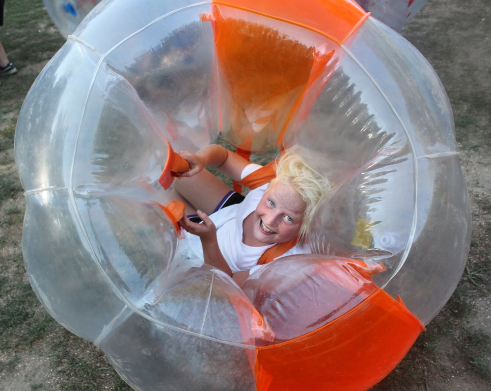 JYF chillin in the bumper balls.JPG