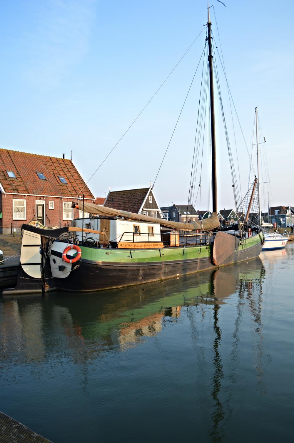 Boat - Marken, The Netherlands