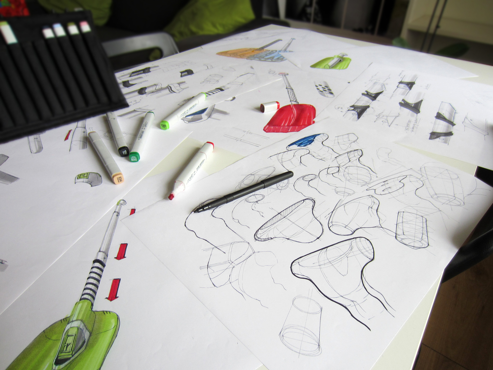 Idea generation - Sketches